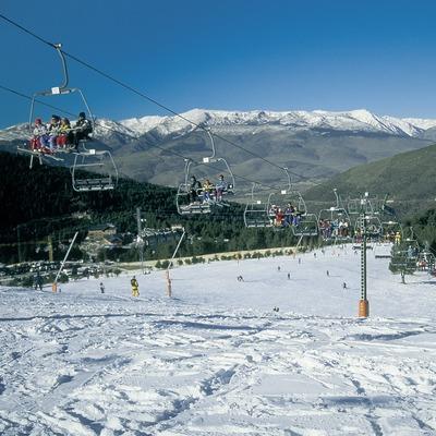 Pistas de esquí de La Molina.  (Servicios Editorials Georama)