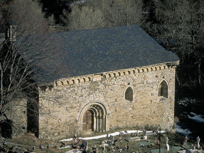 Iglesia de Sant Joan d'Isil.  (Servicios Editorials Georama)