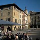 Main square and town hall in Vic