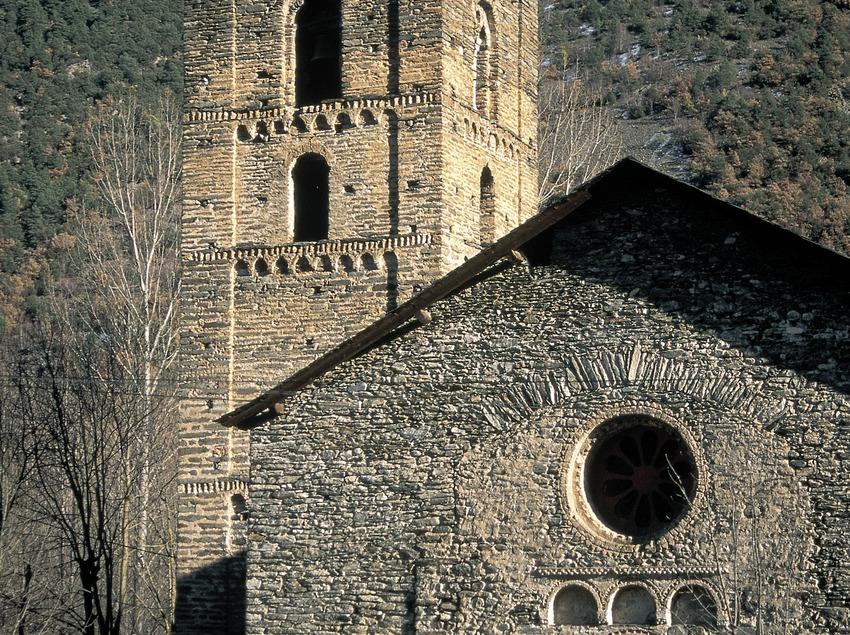Iglesia de Santa Maria de Ribera de Cardós.  (Servicios Editorials Georama)