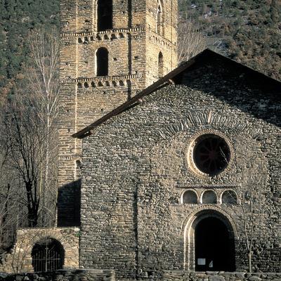 Església de Santa Maria de Ribera de Cardós.  (Servicios Editorials Georama)