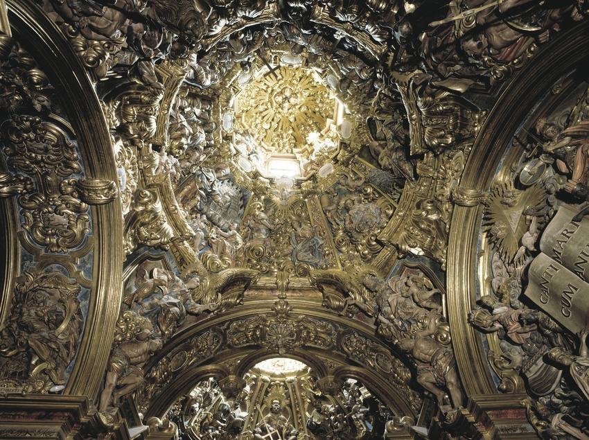 Retaule de la capella de la Mare de Déu dels Colls (1733-84). Josep Pujol. Sant Llorenç de Morunys  (Masats)
