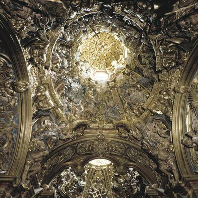 Retablo de la capilla de la Virgen dels Colls (1733-84). Josep Pujol. Sant Llorenç de Morunys  (Masats)