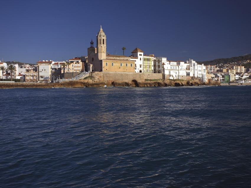 Vista del poble de Sitges.   (Patronat Turisme de Sitges)