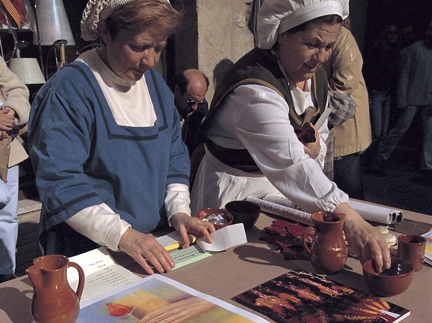 Setmana Medieval de Montblanc. Parada del mercat medieval.  (Rafael López-Monné)
