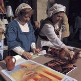 Semana Medieval de Montblanc. Puesto del mercado medieval.  (Rafael López-Monné)