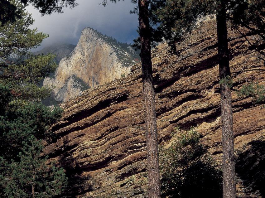 Penyes Altes del Moixeró, en la sierra del Cadí  (Oriol Alamany)