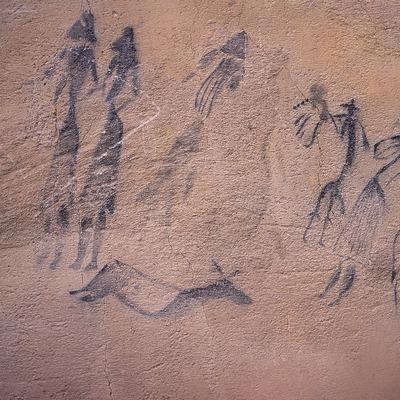Pinturas rupestres de la Roca dels Moros, El Cogul.  (Servicios Editorials Georama)