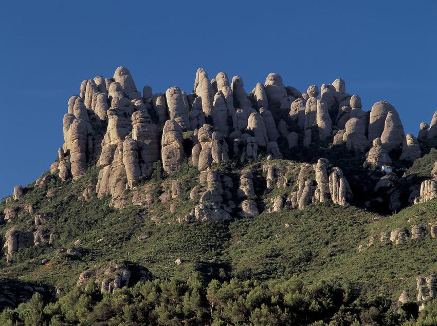 Resultat d'imatges de Muntanyes de Montserrat