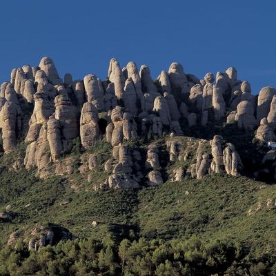Les Agulles de la montaña de Montserrat