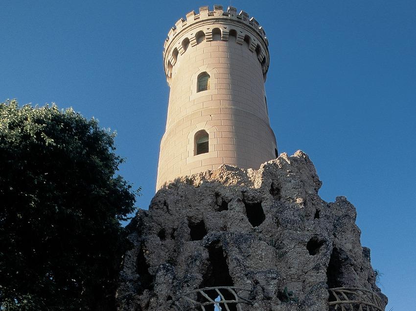 Turm im Samà Park.  (Servicios Editorials Georama)