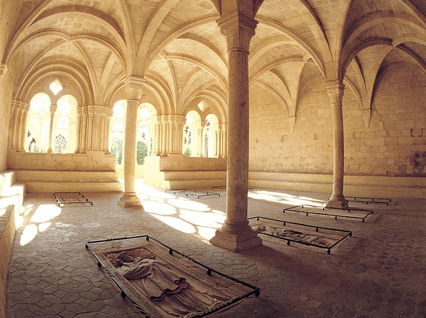 Sala capitular del monasterio cisterciense de Santes Creus   (Toni Vidal)
