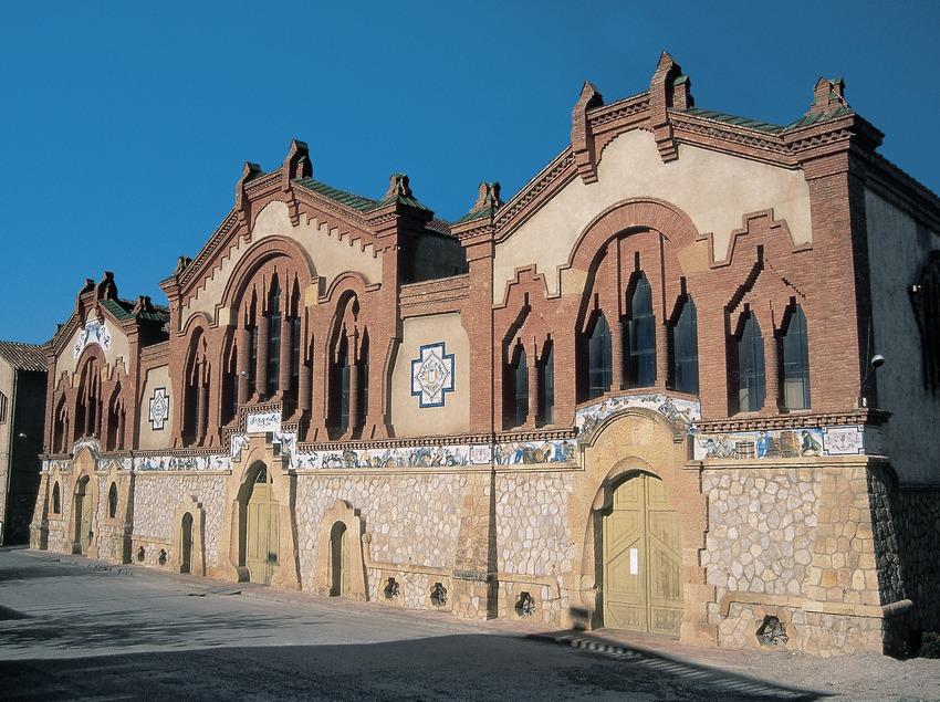 Bodega de El Pinell de Brai, la catedral del vino