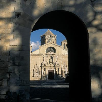 Entrada al monasterio de Poblet