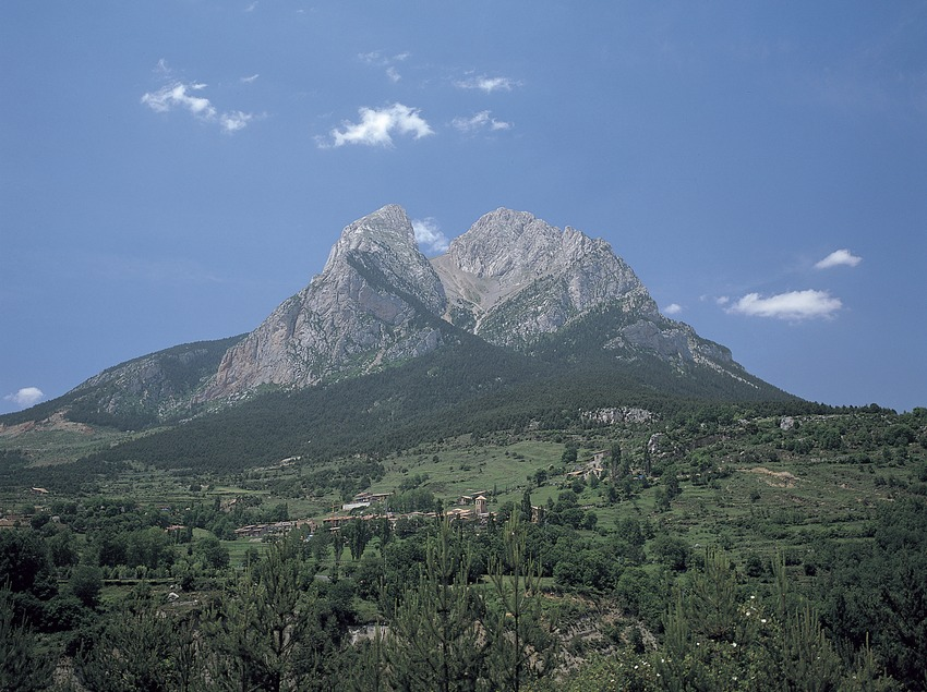 El Pedraforca.