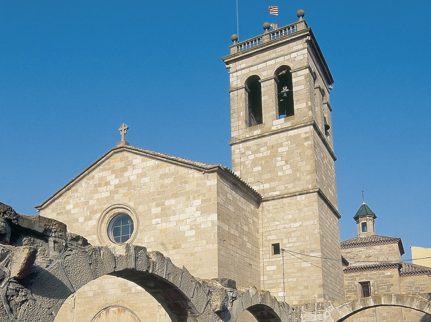 Església de Sant Pau de Narbona, Anglesola.  (Servicios Editorials Georama)