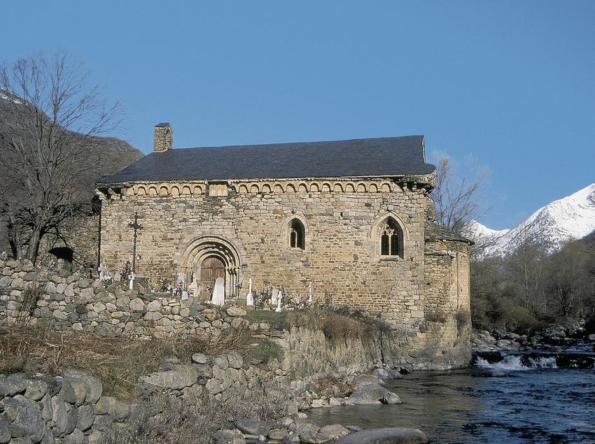 Església de Sant Joan d'Isil.