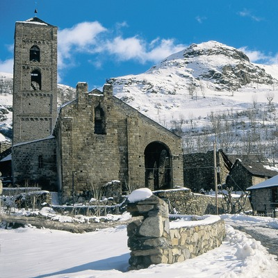 Iglesia de Sant Feliu de Barruera.  (Servicios Editorials Georama)
