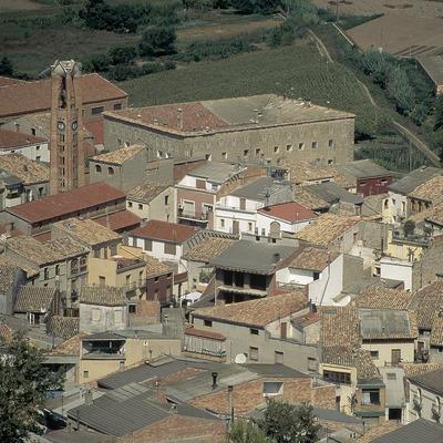 Casc històric d'Artesa de Segre.