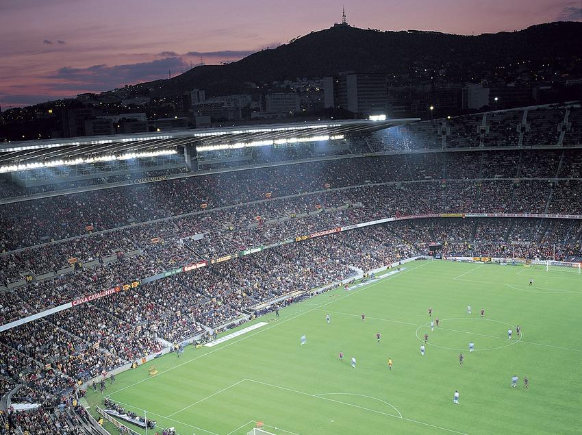 Camp Nou. Estadi del Futbol Club Barcelona.  (Felipe J. Alcoceba)