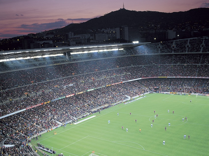 Camp Nou. Estadio del Futbol Club Barcelona.  (Felipe J. Alcoceba)