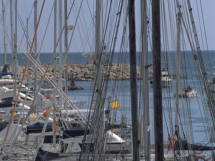 Puerto deportivo de Torredembarra.