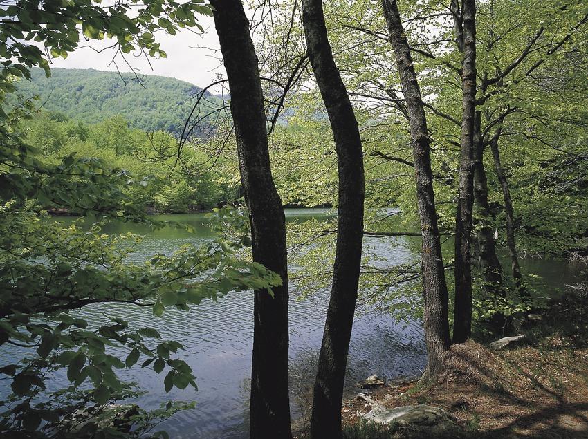 Lago en el macizo del Montseny.  (Konic)