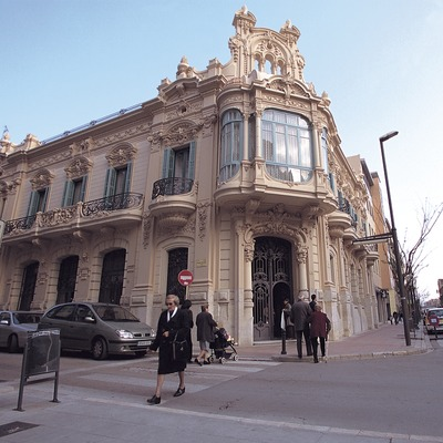 Casa modernista a Tortosa  (Mariano Cebolla)