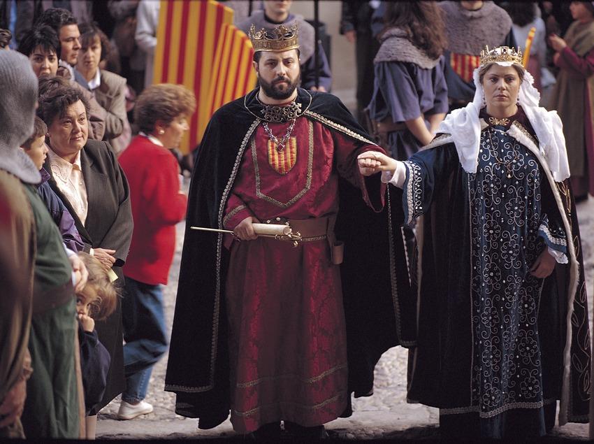 Semana Medieval de Montblanc. Recreación histórica de las Cortes Catalanas.  (Rafael López-Monné)