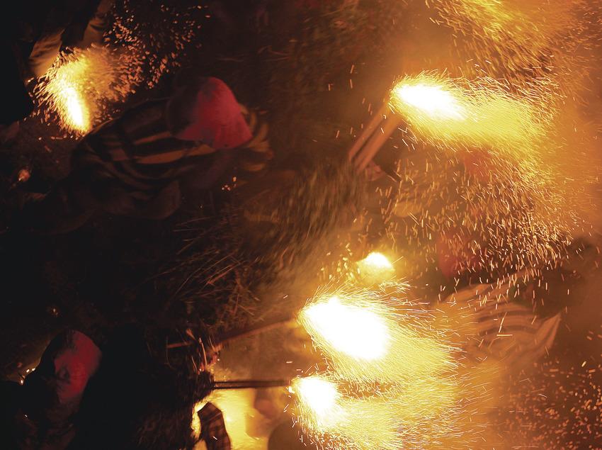 Fiestas de Corpus, Salt, jueves noche  (Magma)