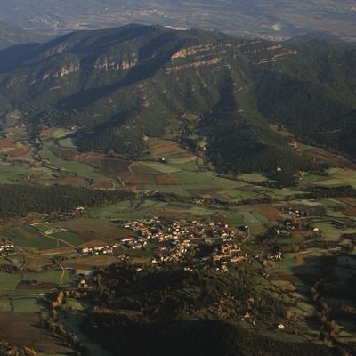 Santa Pau.  (Oriol Alamany)