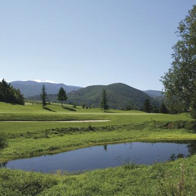 Green fee 18 forats jugadors sènior   (Aravell Golf)
