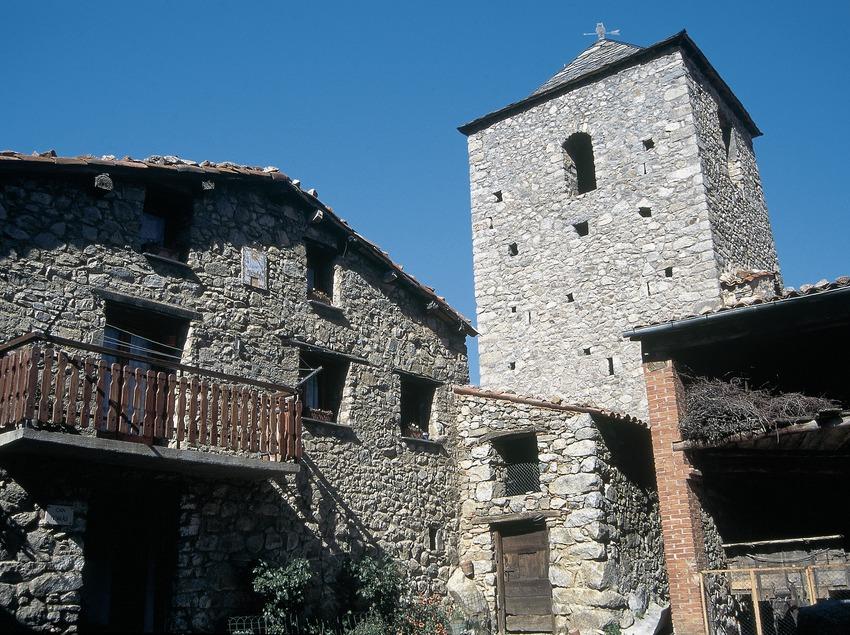Die Kirche Sant Fruitós.