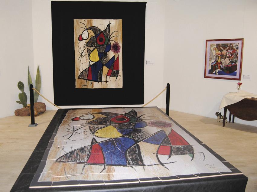 Itinerarios mironianos   (Centre Miró de Mont-roig del Camp)