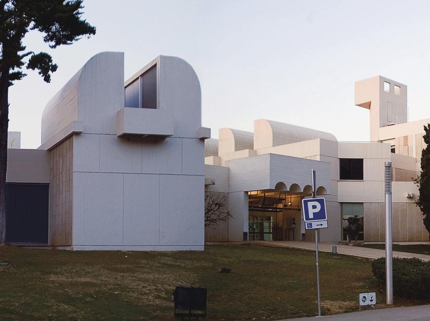 Un dia en família a la Fundació Miró   (Fundació Joan Miró)