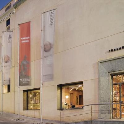 Visita a la Fundació Palau i ruta literària   (Fundació Palau. Picasso a Caldes d'Estrac)