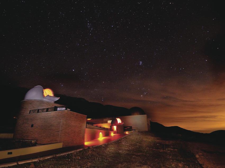 Un planetari únic al món   (Centre d'Observació de l'Univers)