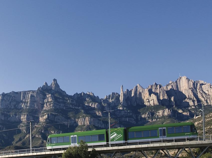 Cremallera de Montserrat   (Ferrocarrils de la Generalitat de Catalunya)