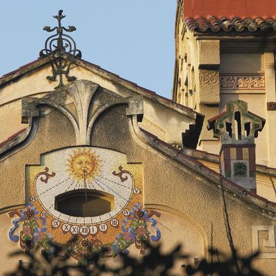 Modernisme i aigües termals   (Centre de Visitants de la Garriga)