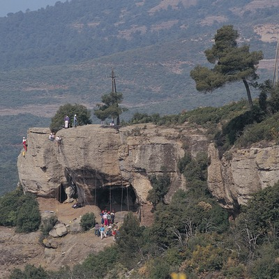 Les Foradades. Parc Natural de Sant Llorenç del Munt i la Serra de l'Obac   (Francesc Muntada)