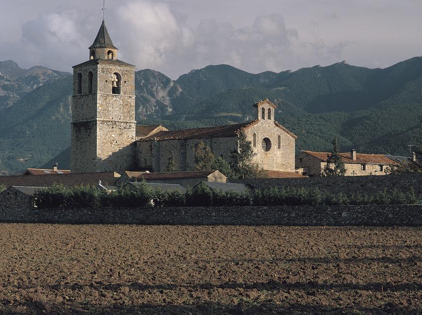 Cerdanya. Església romànica de Santa Maria de Talló