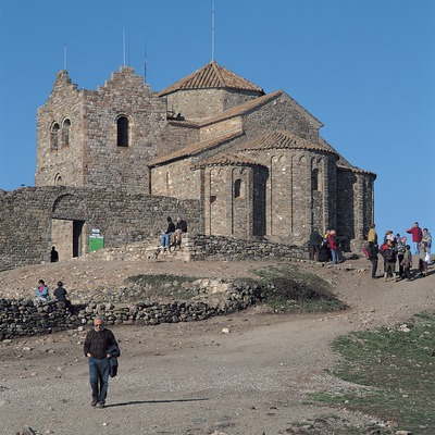 Monestir de Sant Llorenç del Munt. Parc Natural de Sant Llorenç del Munt i la Serra de l'Obac.  (Francesc Muntada)
