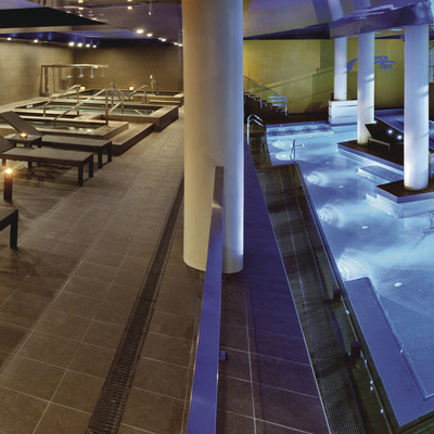 A relaxing escape   (Silence Thalasso Spa)