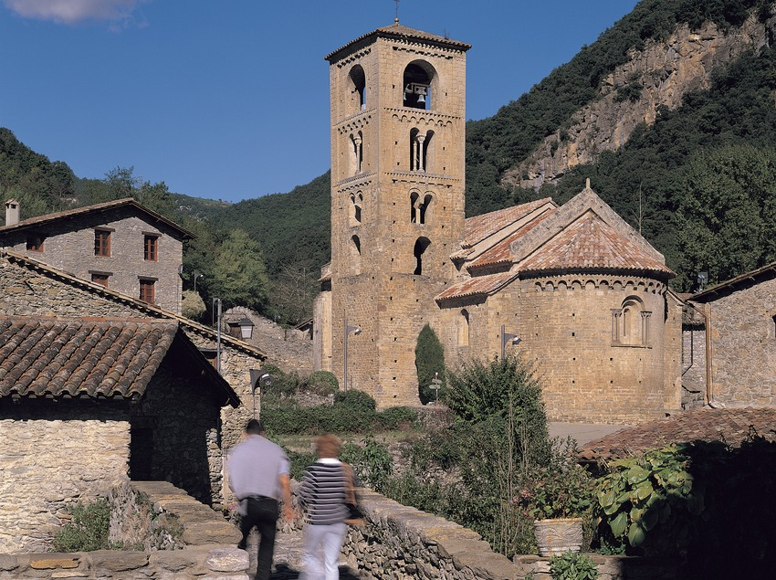 Iglesia de Sant Cristòfor de Beget.  (Francesc Muntada)