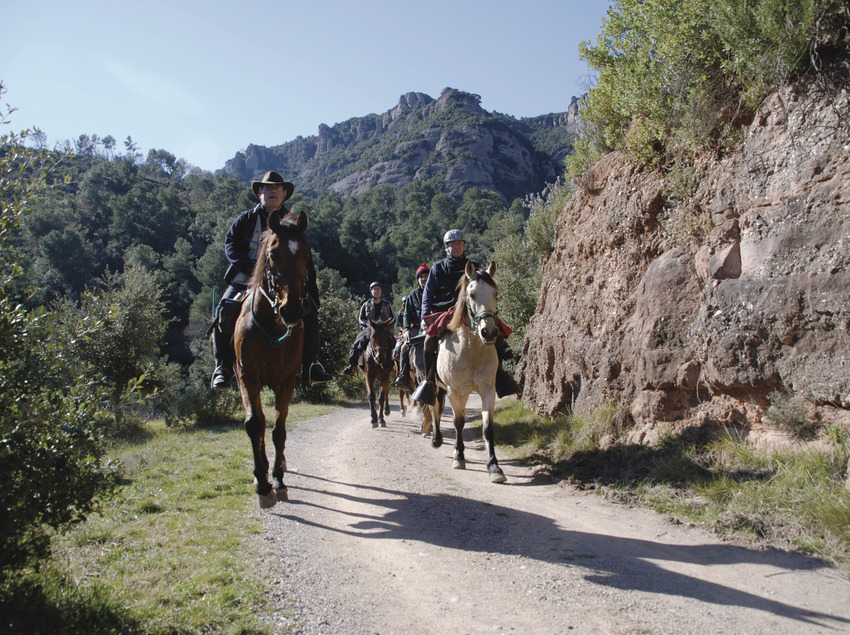 Le Vallès Occidental à pied et à cheval   (Consorci de Turisme del Vallès Occidenta)