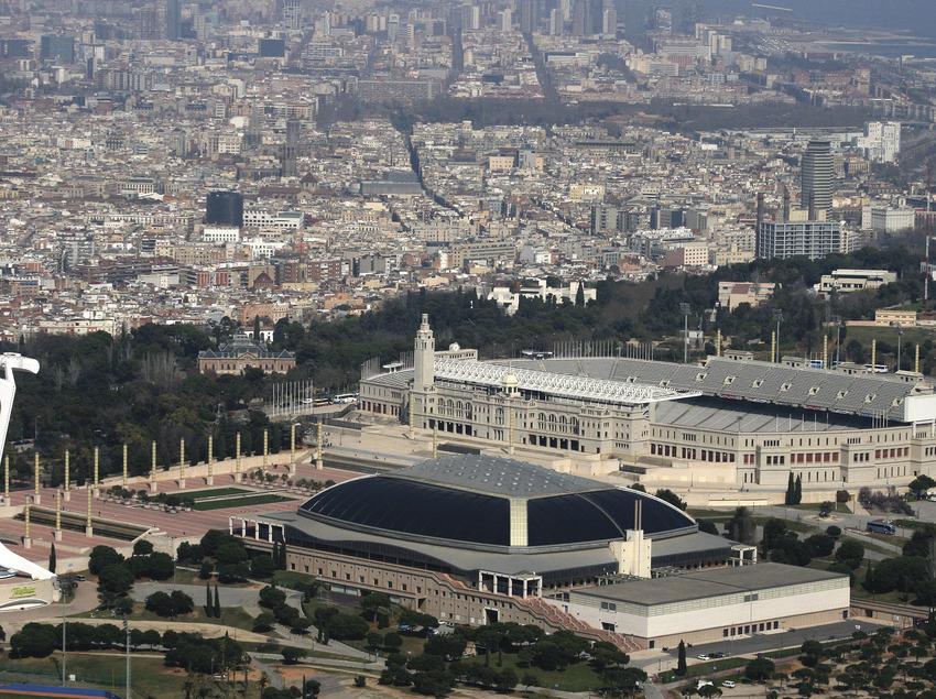 Barcelona des de l'aire   (Cathelicopters)