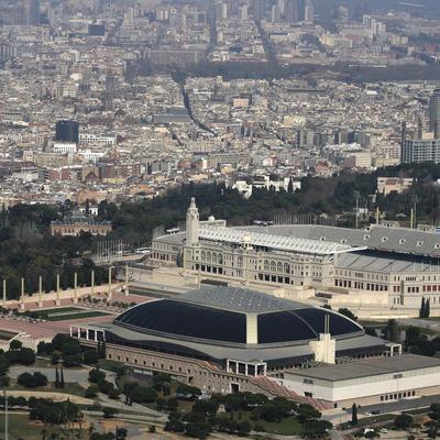 Barcelona des de l'aire