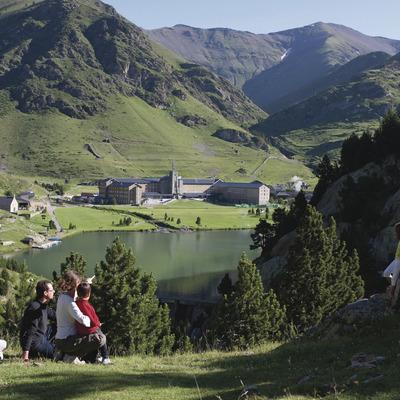 Vall de Núria   (Estació de muntanya Vall de Núria)