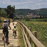Vías Verdes de Girona en bicicleta eléctrica