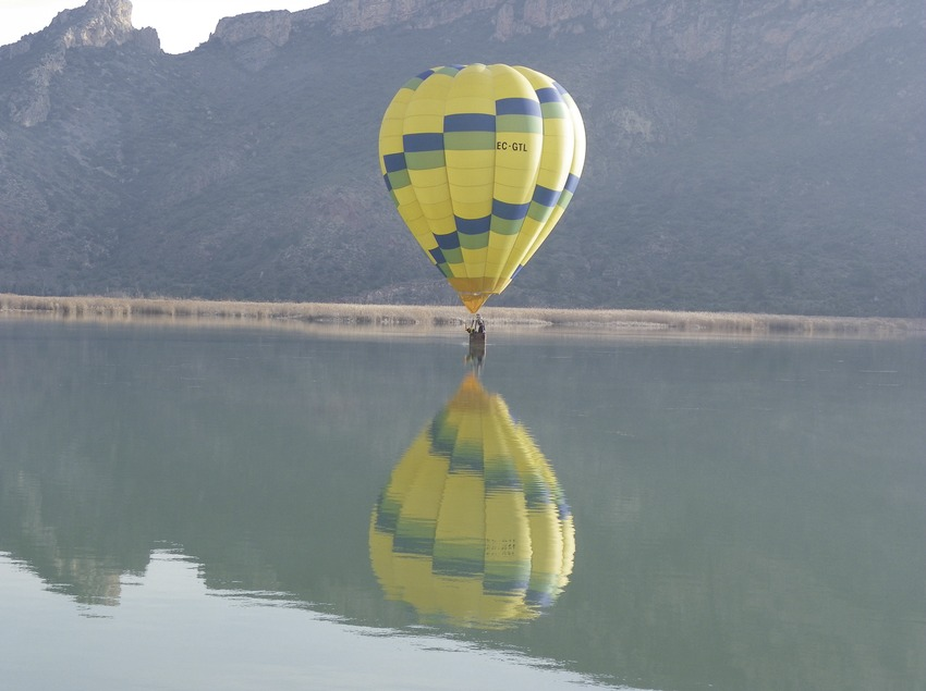 Volar amb globus   (Camins de Vent)